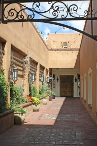 Courtyard in Santa Fe