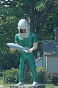 Gemini Giant at Wilmington IL