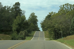 Hills in Oklahoma