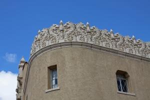 Parapet in Santa Fe
