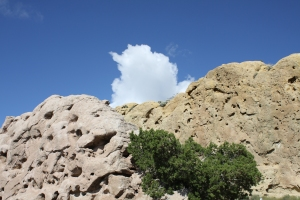 Rock Formations on the Turquoise Trail