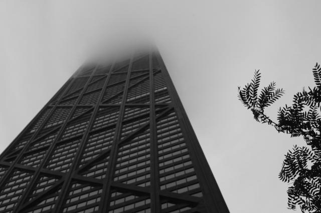 Skyscraper in the clouds 1