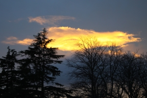 Sunset 4 Jan 2014 Edinburgh