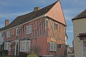 Lavenham houses