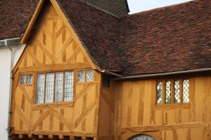 Medieval building in Lavenham