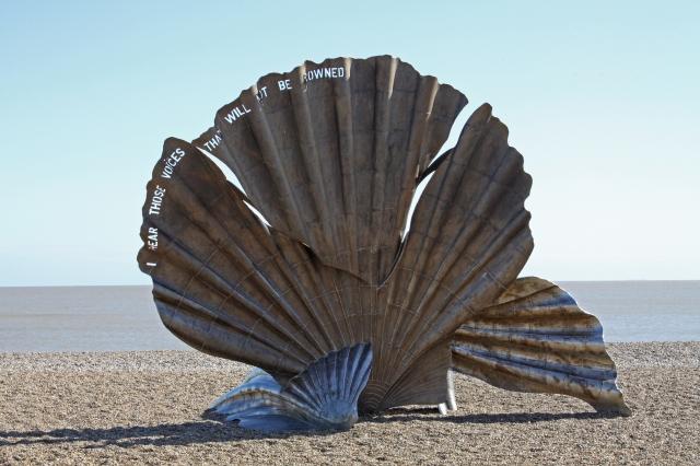 Scallop shell Aldeburgh