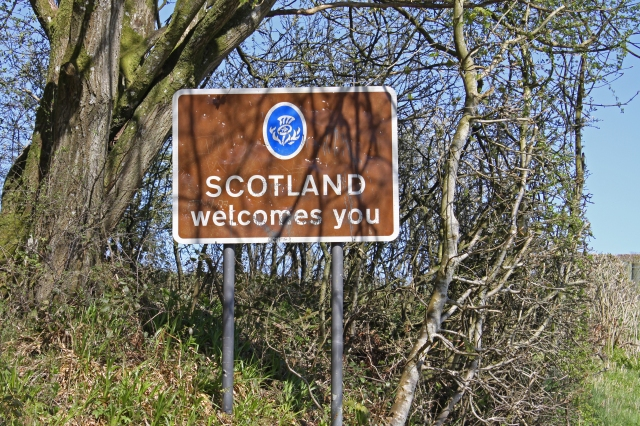 Welcome to Scotland B6318