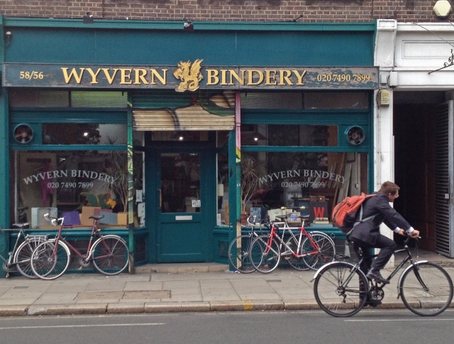 Bindery shop Clerkenwell