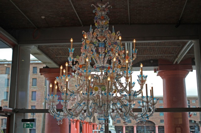 Tate Liverpool chandelier