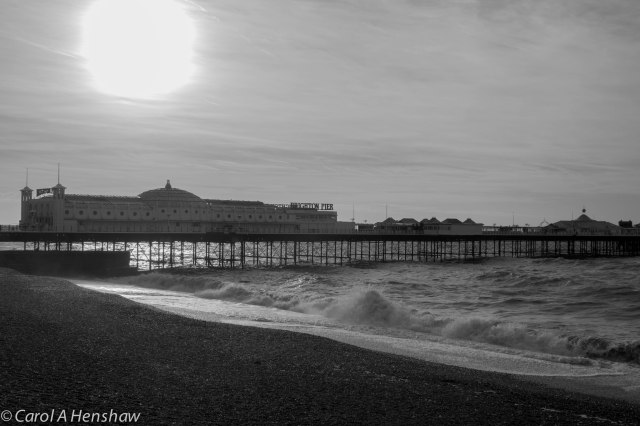 The Pier Morning Brighton 18 Oct 2014 (1 of 1)