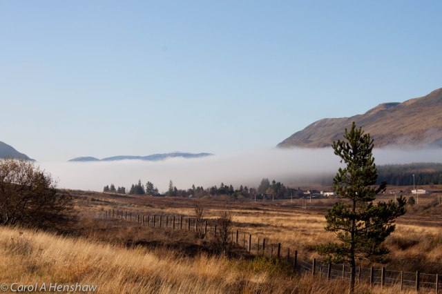 Mist near Dalwhinnie 9 Nov 2014 (1 of 1)