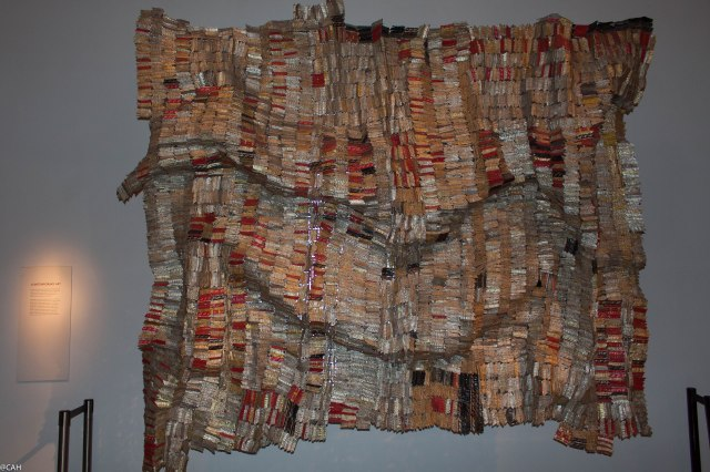 Kente Cloth by El Anatsui British Museum 15 Feb 2015 (1 of 1)