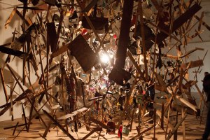 Cold Dark Matter Exploded Cornelia Parker Whitworth Gallery March 2015 (1 of 1)