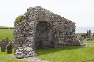 Remains of circular church Orphir 9 June 2015 (1 of 1)