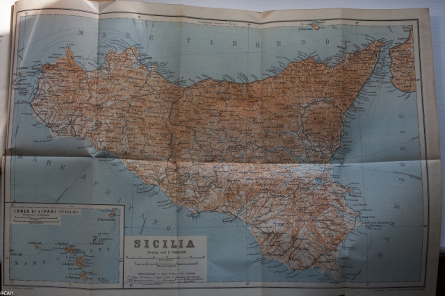 Baedekkers 1912 Sicilia map (1 of 1)