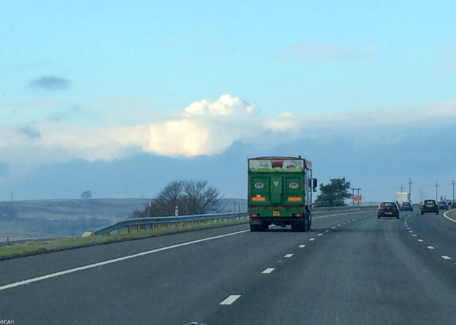 M6 near Shap Feb 2015 (1 of 1)