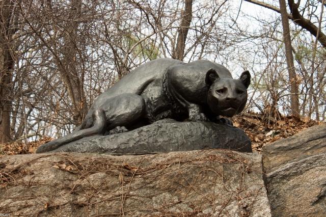 Anna Vaughan Hyatt Huntinton's Jaguar Central Park 6 Mar 2016 (1 of 1)