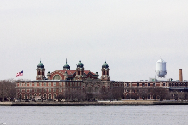 Ellis Island from Staten Island Ferry  2 5 Mar 2016 (1 of 1)