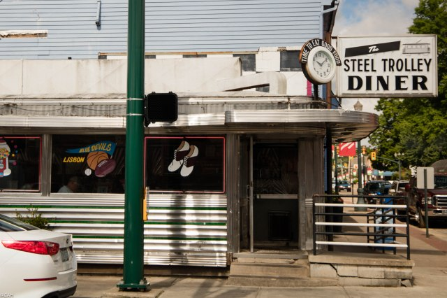 Steel Trolley Diner Lisbon OH 29 June 2016-1